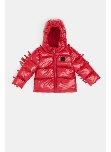 BG Baby Kız Bebek Kırmızı Mont 20Fw0Bg2727 Kırmızı